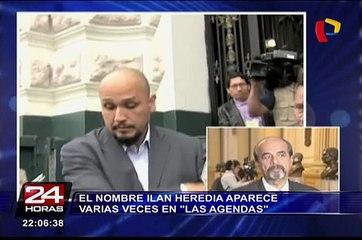 El nombre de Ilan Heredia en las agendas vinculadas a Nadine