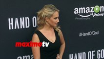 """Molly McCook """"Hand of God"""" Premiere Screening Red Carpet Arrivals"""