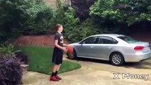 Driveway Basketball Invitational Dunk Contest 2015 Backyard Dunks Game