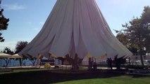 Dev Semsiye 500m2 The biggest umbrella in the world! Huge Umbrella