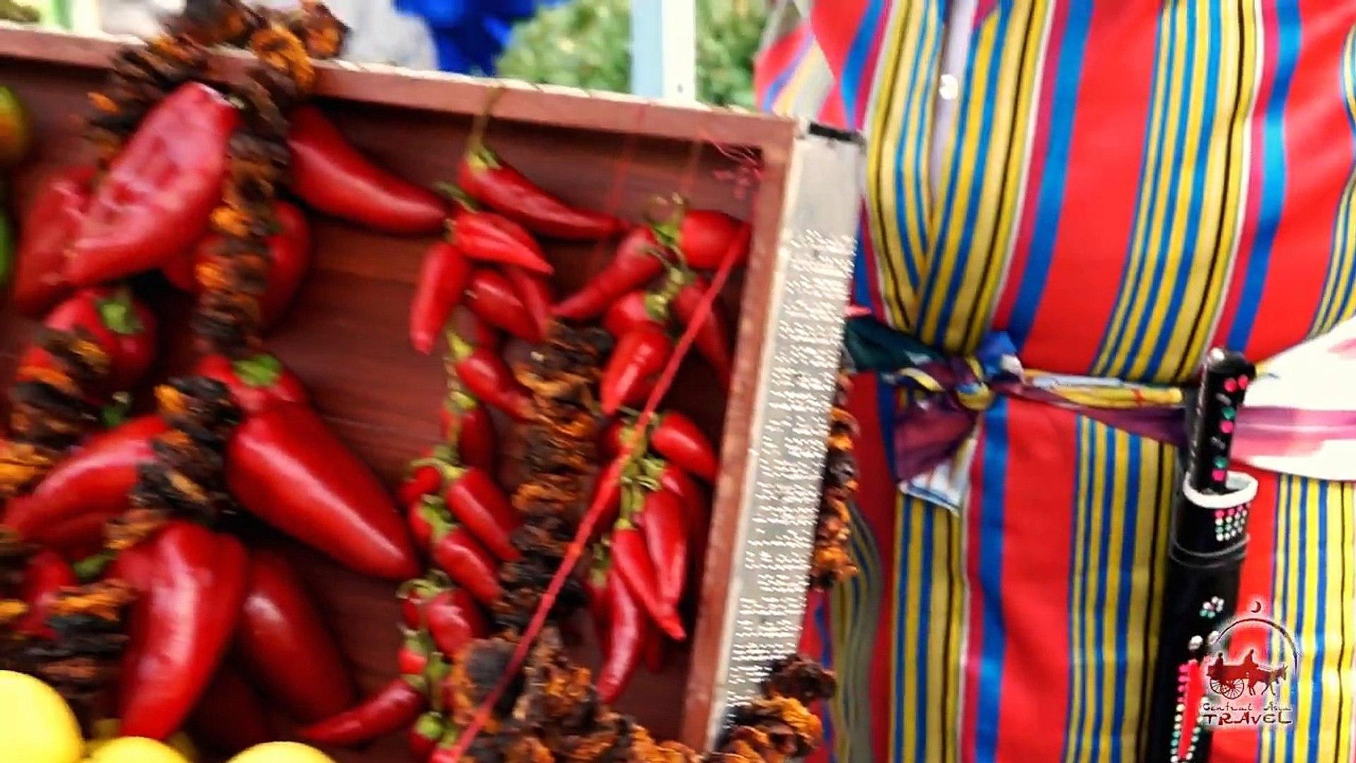 Узбекские фрукты и овощи. Базары Узбекистана. Дары Узбекистана.