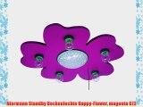 Niermann Standby Deckenlechte Happy-Flower magenta 672