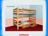 Bettkasten Schubkasten Set 2 x stck f?r das Bett- Oli und Oli 2- Buche Natur