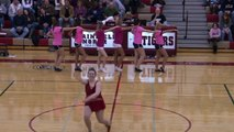 Plainfield North high school Baton Twirler twirling routine senior night PNHS Illinois Il 2010