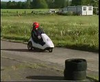 Jet Powered Sinclair C5 -  Featured on Hacked Gadgets