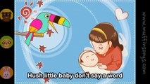 Muffin Songs - Hush little baby  nursery rhymes & children songs with lyrics  muffin songs