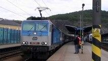 Vlaky - Ústí nad Labem hlavní nádraží