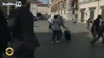 Attentato a Palazzo Chigi durante il giurmento del governo Letta
