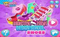 Monster High Design School Shoes - Games For Girls
