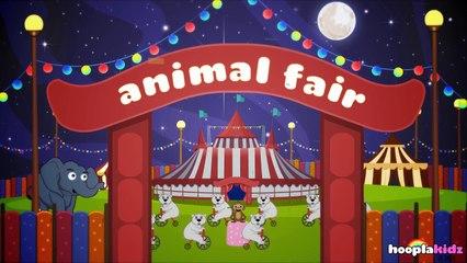 国语童谣 | The Animal Fair | Nursery Rhymes in Mandarin by HooplaKidz Mandarin