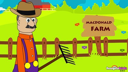 国语童谣 | Old MacDonald Had A Farm | Nursery Rhymes in Mandarin by HooplaKidz Mandarin