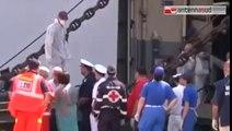 TGSRVago 20 taranto sbarcati 73 profughi