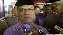 'Cut off my ears if BN loses in Bentong'