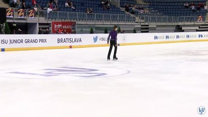 JGP Bratislava 2015 Roman SADOVSKY SP