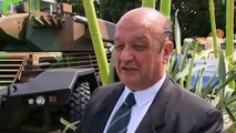 Sphinx Panhard EBRC Eurosatory 2010 combat armoured reconnaissance vehicle France French army.flv