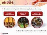 transmetteur de pesage SCAIME eNod4 pour systèmes automatisés - Français
