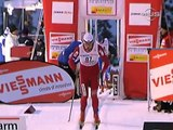 Petter Northug Finish in Spectacular style