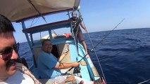 İzmir  Derin Su  Mercan Avı 16.08.2015 (80 - 110 metre )