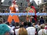 Douai- Gayant -la famille de Gayant danse le rigodon