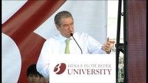 Nis ndërtimi i kampusit të ri të Universitetit Beder, Berisha: Do ju japim pronat