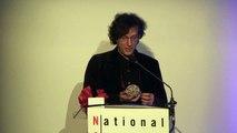 Neil Gaimain Accepts 2014 Free Speech Defender Award from National Coalition Against Censorship