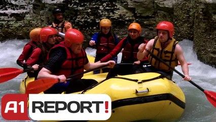 Shtegtim,  Rafting studentet hollandeze ne Osum