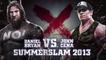 Daniel Bryan vs. John Cena, part of WWE Immortals