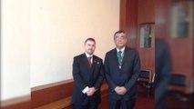 Konsulli Ylli Ndroqi vizitë në Meksiko City, pritet nga zyrtarët e lartë