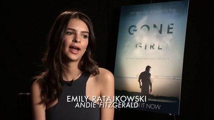 Gone Girl  Emily Ratajkowski interview