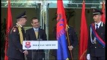 Burgaj i dorëzon flamurin drejtorit të ri të policisë Didi:Tahiri prezanton 12 krerët e uniformave