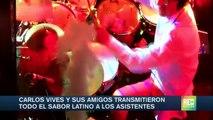 Así fue el concierto de Carlos Vives y sus amigos