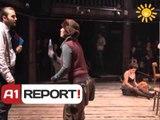 A1 Report, Rreze Dielli dt 25  tetor 2013 Teater