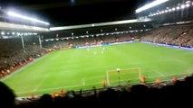 Liverpool vs Everton - Steven Gerrard goal celebration - uchubald xcelebration