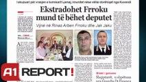A1 Report  - Vrasja e Dritan Lamajt, Arben Frroku mund të bëhet deputet