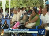 Bolívar realiza encuentro inclusivo con personas con discapacidad