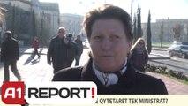 A1 REPORT-VOX REPORT-A do të shkojnë qytetarët tek ministrat?