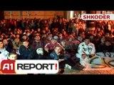 """A1 Report - Shkodër, qytetarët ndjekin vendimin e Kryeministrit Rama në """"A1 Report"""""""