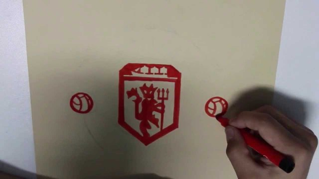 How I Draw Manchester United Emblem