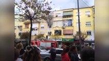 """Digjet apartamenti afër shkollës """"Çajupi"""". Channel One jep pamjet ekskluzive nga vendngjarja"""