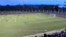 NCSU v. UVA Mens Soccer Highlights 2013