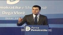 Basha vijon sulmet ndaj Ramës, përkujton në Vlorë 23-vjetorin e krijimit të PD-së