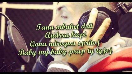Diedon - Buzt e Kuqe ( Official Video Lyrics ) - 2014