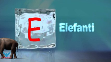 E Alfabeti Shqip shkronja E