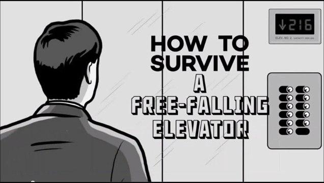 【ジャンプしても無駄!】落下するエレベータで生き残る方法!解説映像登場へ