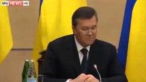 Janukoviç shfaqet në Rusi: Do të luftoj deri në fund për Ukrainën