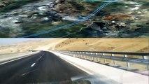 TAZA - FES Maroc Morocco -  Autoroute  Highway--Timelapse .