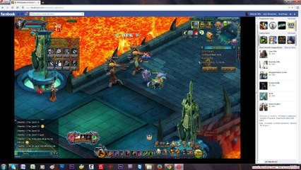 Talsarah in battle gameplay Odin quest on gamebox part 1