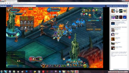Talsarah in battle gameplay Odin quest on gamebox part 2