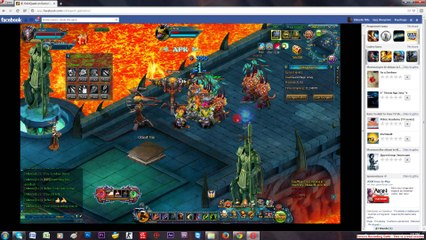 Talsarah in battle gameplay Odin quest on gamebox part 4