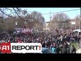 A1 Report - 'Radika', serish proteste, qytetaret: Tirana e Prishtina te reagojne